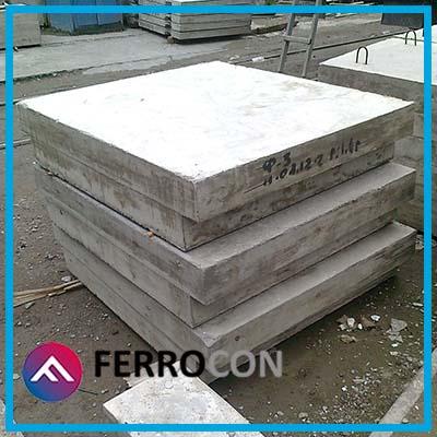 Фундаментная плита Ф3